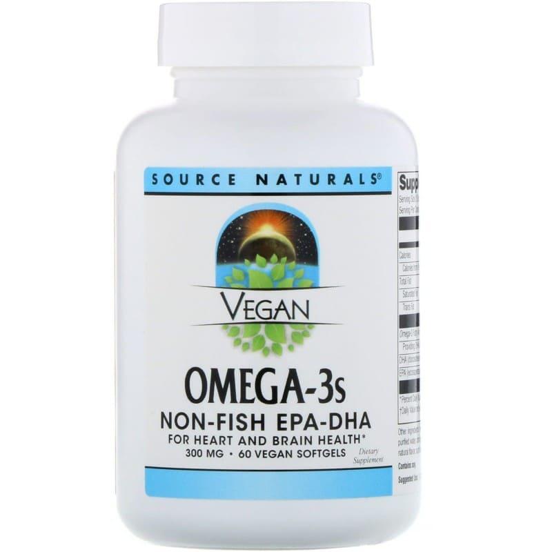омега-3 для веганов