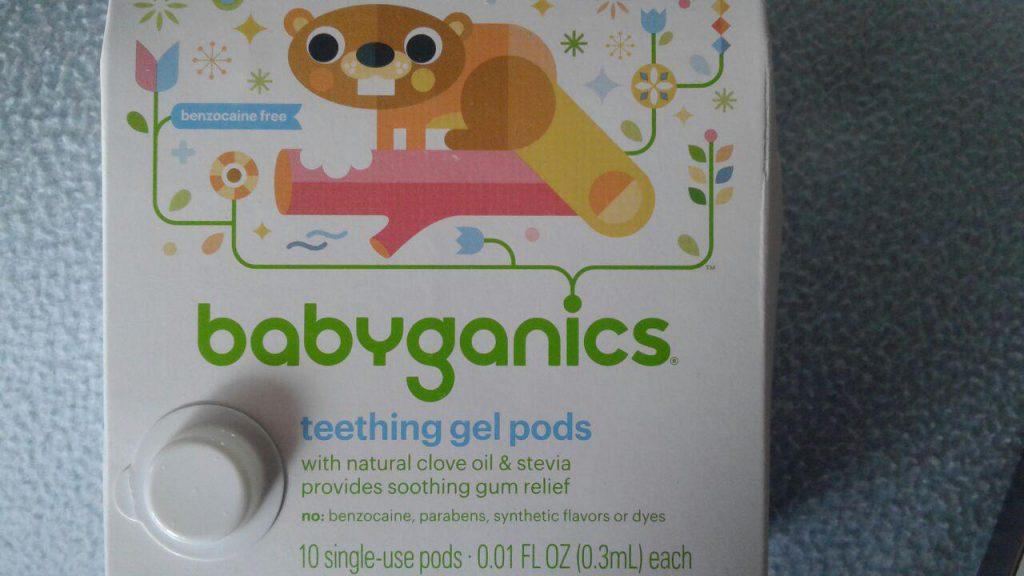 BabyGanics, Гель для десен при прорезывании зубов удетей