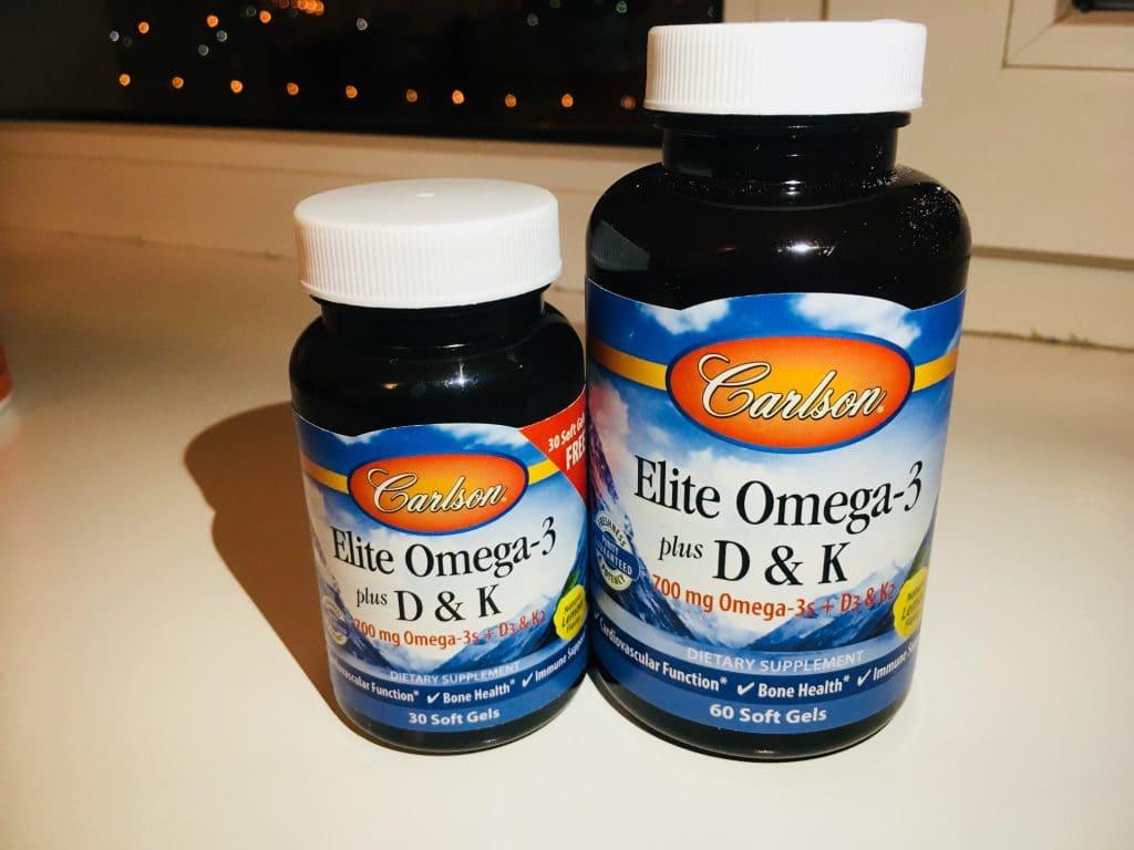 Omega 3 carson labs + d3 + K